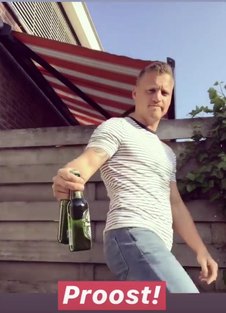 Heineken met 'heinekenhakkie' gaat viraal